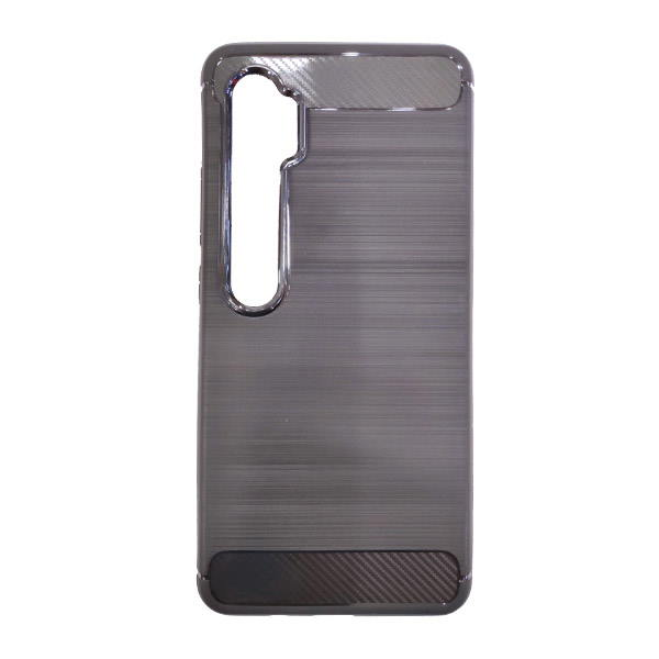 Black Fibto Carbon Mi Note 10 Cover