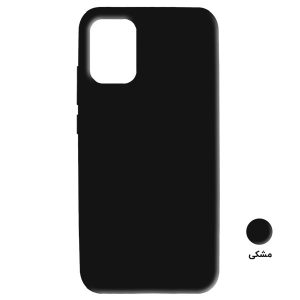 Black Silicon cover Mi 10 Lite