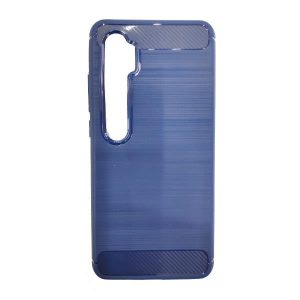 Blue Fibro Carbon Mi Note 10 Cover