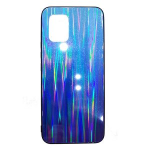 Dark Blue Laser Mi 10 Lite Cover