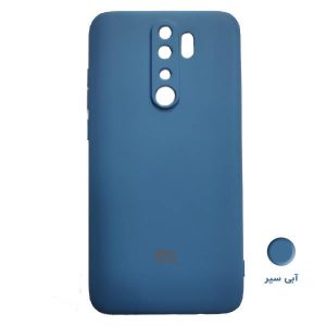 Dark Blue silicon cover Redmi Note 8 Pro