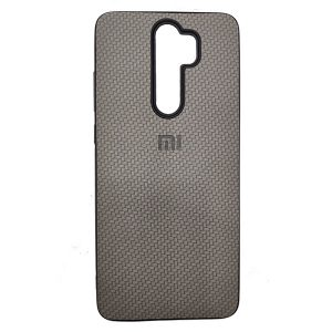 Gray Wicker Redmi note 8 pro Cover