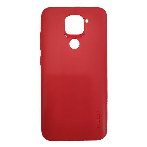 Red Jelly rock Redmi Note 9 Cover