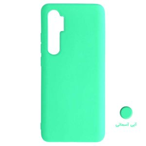 light blue Silicon cover Mi 10 Lite2